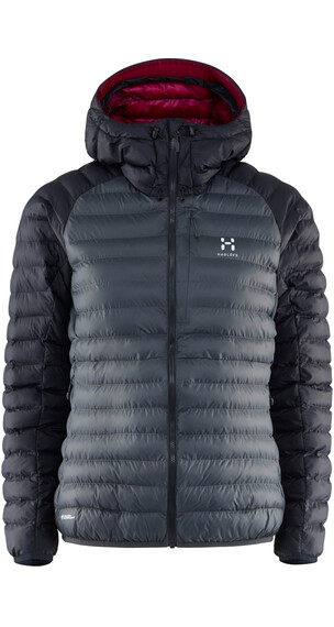 Haglöfs W's Essens Mimic Hood MAGNETITE/TRUE BLACK